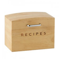 Kitchen Essentials Small Recipe Box