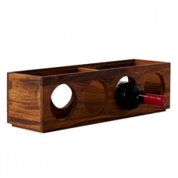 Kitchen Essentials 4-Bottled Stackable Wine Rack
