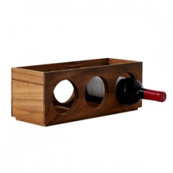 Kitchen Essentials 3-Bottled Stackable Wine Rack