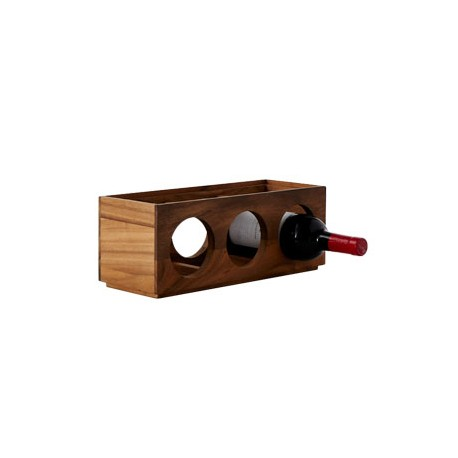 Kitchen Essentials 3-Bottled Stackable Wine Rack