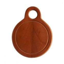 Bubble  Round Handled Trivet/Board  w/Groove