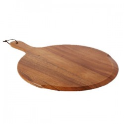 Chefs Large Round Handled Pizza Board