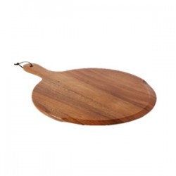Chefs Small Round Handled Pizza Board