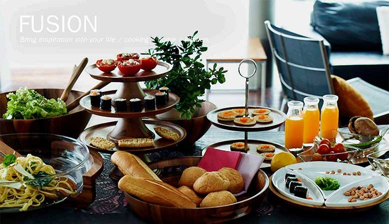 Fusion, Bring inspiration to your life / cooking / home / kitchen